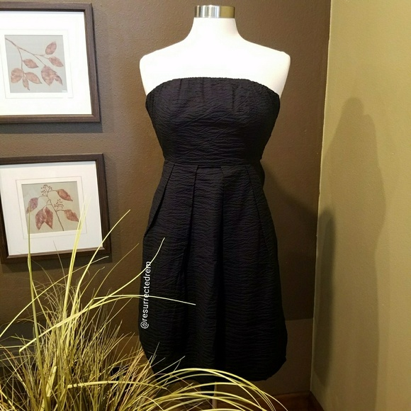 J. Crew Dresses & Skirts - J. CREW Black Strapless Dress Size 0